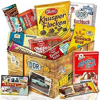 DDR Keks Box mit DDR Waren - Geschenkset DDR mit Kultprodukten