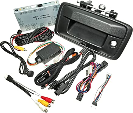Rear Camera Interface Kit for of Toyota Tacoma w//6.1 LCD Radio Screen w//Tailgate Handle Camera AIE 2012-13 Select Models