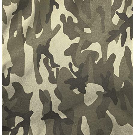 Camou Uniform Camou Face Mask Shirts Camouflage Print x Yard Army 6 oz Canvas Army Camouflage 100/% Cotton Camo Print 58 Wide