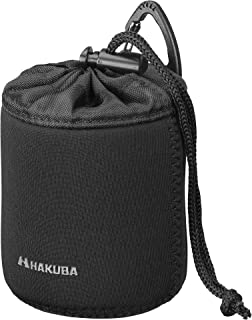HAKUBA 交換レンズケース スリムフィット02 レンズポーチ 70-80 ブラック KLP-S02-7080