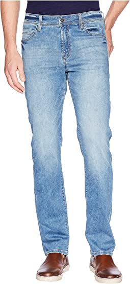 Slim Straight in Comfort Stretch Denim in Hampton Light
