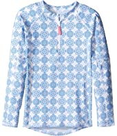 Toobydoo - Delft Long Sleeve Rashguard (Infant/Toddler/Little Kids/Big Kids)