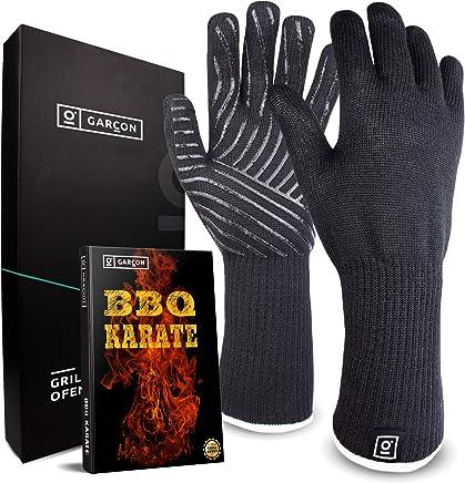 schwarz 1 Paar Größe 10 Feuermeister 70023300P10 Grill- // Küchenhandschuhe