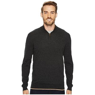 Agave Denim Latitude Long Sleeve 1/4 Zip 14GG Sweater (Stretch Limo) Men