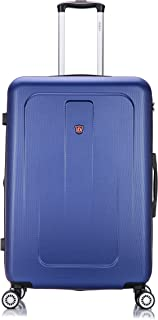DUKAP Luggage - Crypto Collection -Lightweight Hardside Spinner 28'' inches Blue -Suitcases with Wheels
