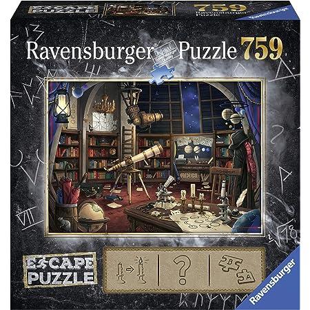 Ravensburger - 19956 - Puzzle Escape 1 Space Observatory 759 pièces - Puzzle Adulte