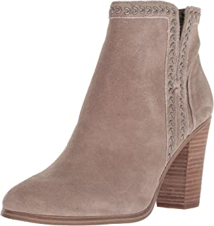 Vince Camuto Womens Finchie Nubuck Embellished Booties