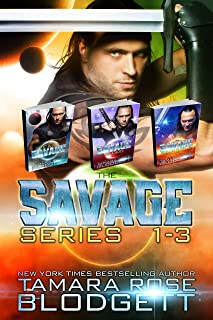 The Savage Series Boxed Set: (Science Fiction Vampire / Shifter Romance Thriller Books 1-3)