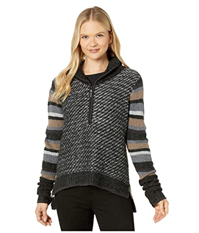 Smartwool CHUP Potlach 1/2 Zip Sweater (Charcoal Heather) Women