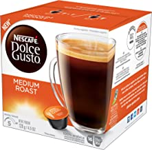 NESCAFÉ Dolce Gusto Coffee Capsules Medium Roast 48 Single Serve Pods, (Makes 48 Cups), 4.5 oz 48 Count