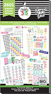 Me & My Big Ideas Happy Planner-Value Pack Stickers-Dates