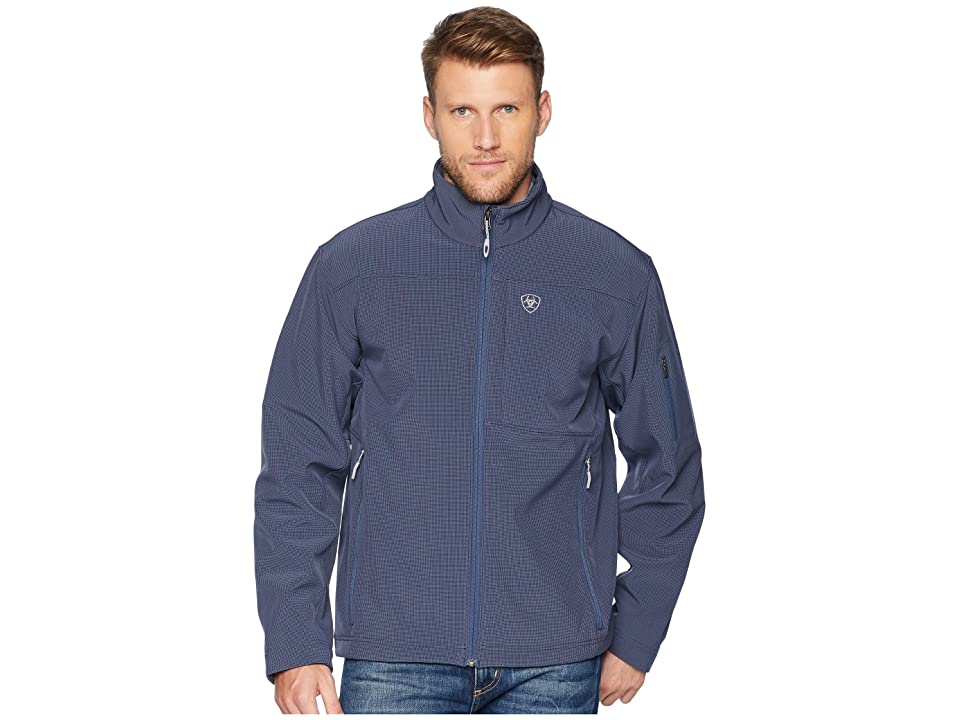Ariat Vernon 2.0 Softshell Jacket (Navy Grid) Men