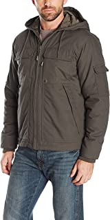 Wrangler Riggs Workwear Men's Ranger Hooded Jacket, Loden, Medium