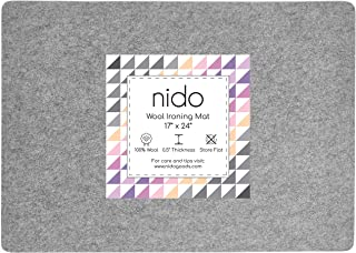 17 x 24 Inches Wool Ironing Mat - Authentic 100% New Zealand Wool Pressing Pad, Perfect for Quilting and More!