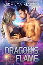 Dragon's Flame: A SciFi Alien Romance (Red Planet Dragons of Tajss Book 11)