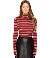 Sonia Rykiel - Striped Wool Turtleneck Sweater