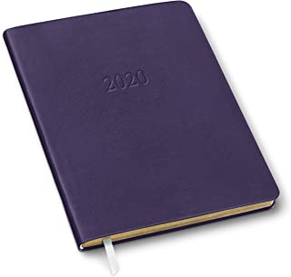 2020 Large Weekly Leather Planner by Gallery Leather - Open Format 9.75