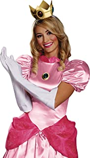 Women's Nintendo Super Mario Bros.Princess Peach Adult Costume Accessory Kit