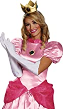 Disguise Women's Nintendo Super Mario Bros.Princess Peach Adult Costume Accessory Kit