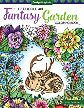 KC Doodle Art Fantasy Garden Coloring Book (Design Originals)