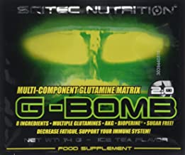 Scitec Nutrition G-Bomb Multi-Component Glutamine Matrix Powder – Box of 25 Sachets Ice Tea Estimated Price : £ 22,75