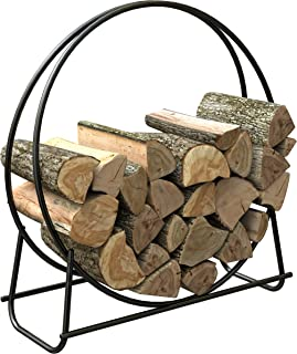 Panacea 15209 40-Inch Tubular Steel Log Hoop
