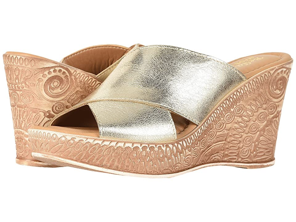 Bella-Vita Edi-Italy (Gold Italian Leather) Women