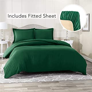 Best hunter green bedding set Reviews