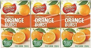 Golden Circle Orange Fruit Drink, 6 x 250ml