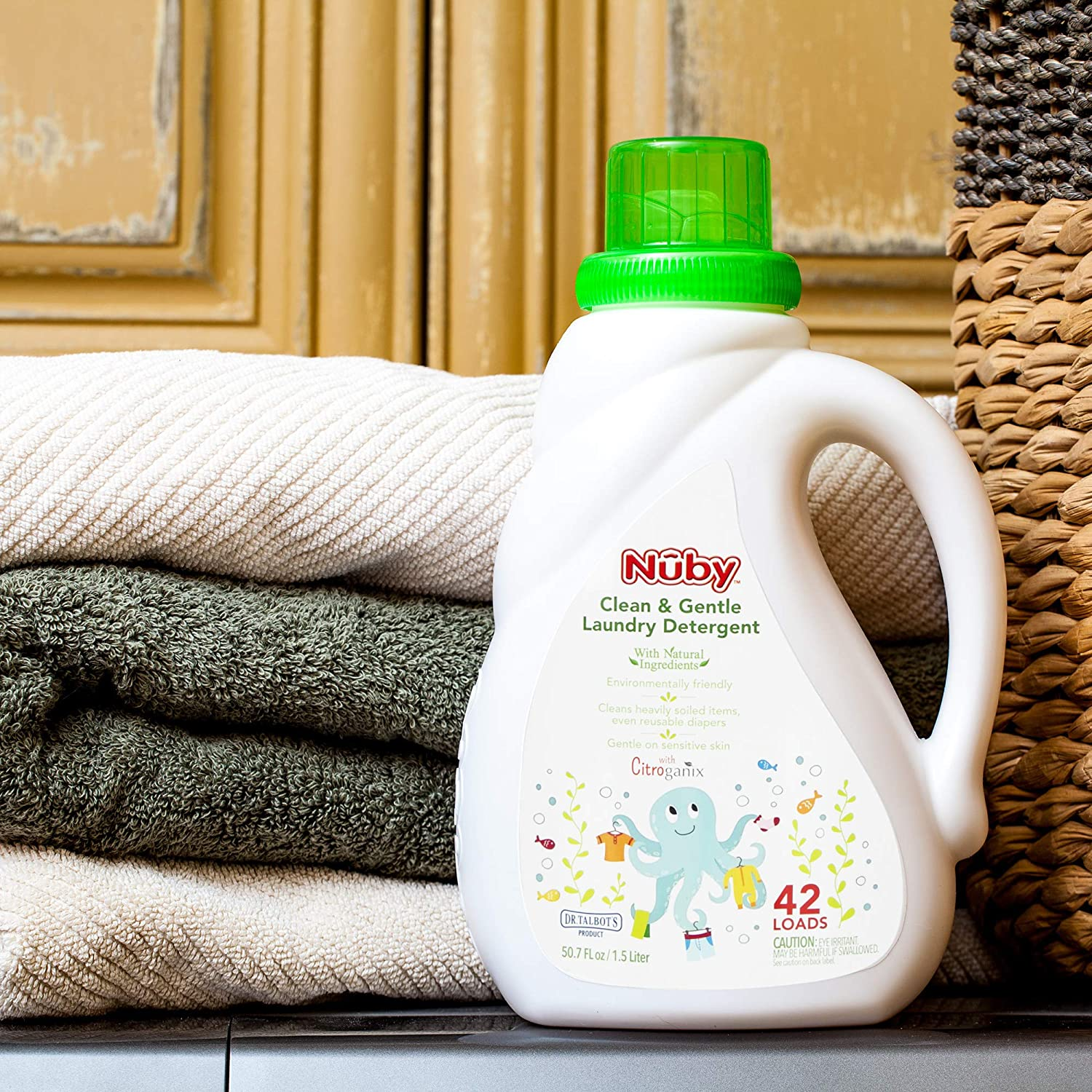 Nuby Laundry Detergent Naturally Inspired with by Dr. Citroganix Sales Albuquerque Mall for sale