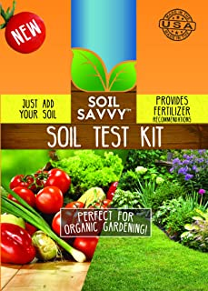 Soil Savvy - Soil Test Kit | Understand What Your Lawn or Garden Soil Needs, Not Sure What Fertilizer to Apply | Analysis Provides Complete Nutrient Analysis & Fertilizer Recommendation On Report (1)
