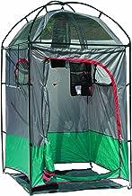 ستارة الحمام Texsport المحمولة الفورية للتخييم في الهواء الطلق وغرفة تغيير الملابس رمادية اللون