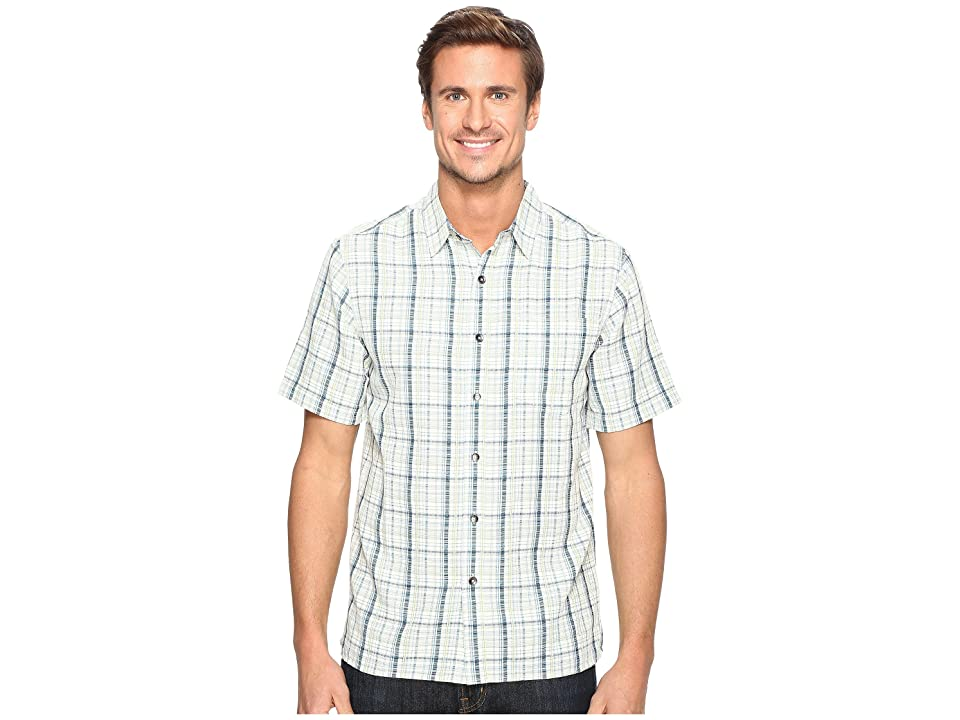 Royal Robbins Pilat Plaid Short Sleeve Shirt (Blue Jay) Men