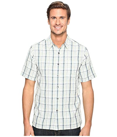 Royal Robbins Pilat Plaid Short Sleeve Shirt (Blue Jay) Men