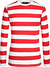 Best red and white striped shirt waldo Reviews