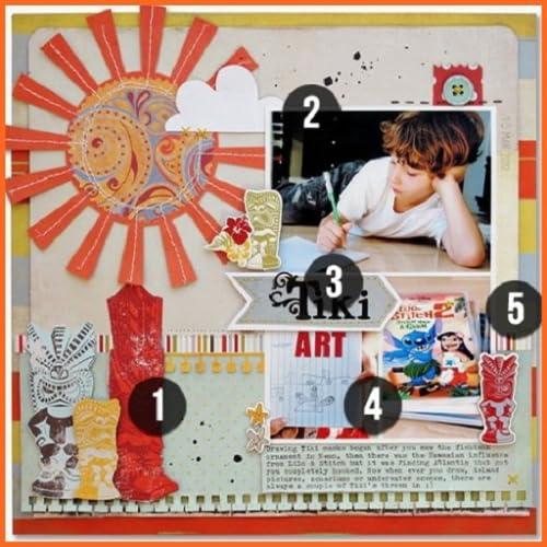 Creative Cool DIY Scrapbook Ideas