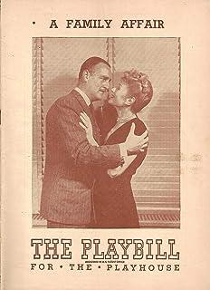 "Ann Mason""A FAMILY AFFAIR"" John Williams/Frank Lyon/Emily Ross 1946 Broadway FLOP Opening Playbill"