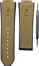 Brown Watch Band 19x28mm for Big Bang Matte Calf Leather   Free Spring Bar Tool