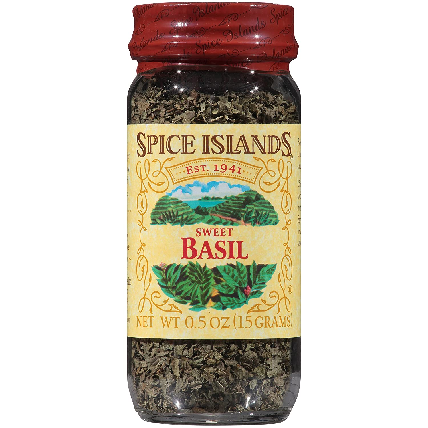 Long Beach Mall Spice Islands Basil Sweet Limited time trial price of .5-Ounce 3 Pack