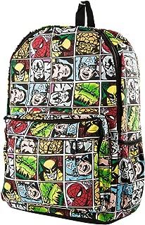 Marvel Comic Super Hero Backpack Shoulder Bag Schoolbag