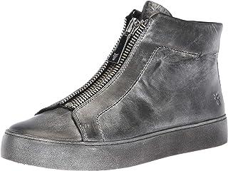 FRYE Wohombres Lena Zip HIGH zapatilla de deporte, negro Multi, 8.5 M US