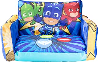 PJ Masks Flip Out Mini Sofa - 2 in 1 Kids Inflatable Sofa and Lounger