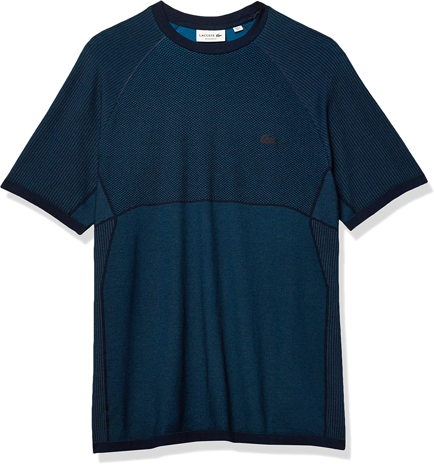 Lacoste Max 78% OFF Men's Motion Popular Short Sleeve Dry Quick Colorblock T-Shirt