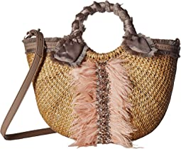 Sam Edelman - Idina Feather Straw Tote