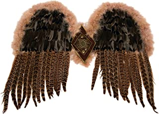 Women's Exotic Feather Wings
