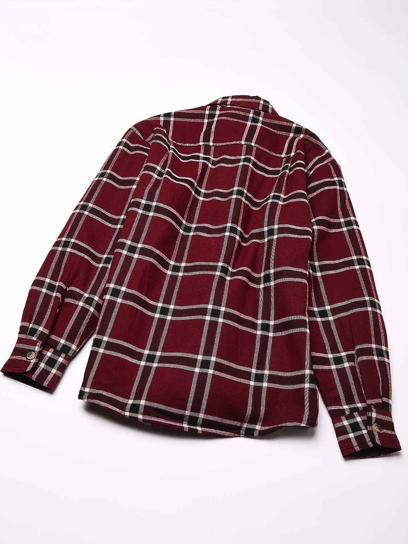 Wrangler Mens Flannel Shirt Jacket