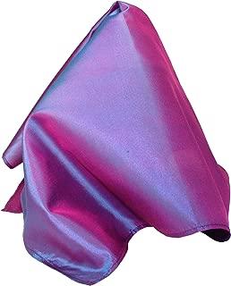 Fine Purple Silk Pocket Square - Full-Sized 16