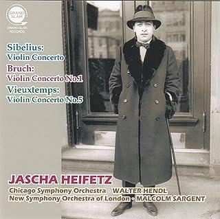 ヴァイオリン協奏曲集 / ヤッシャ・ハイフェッツ (Sibelius : Violin Concerto | Bruch : Violin Concerto No.1 | Vieuxtemps : Violin Concerto No.5 / Jascha Heifetz)