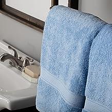 Superior 900GSM BATH LB Towel Set, 2PC, Light Blue