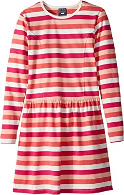 Toobydoo - Stripe Skater Dress (Toddler/Little Kids/Big Kids)